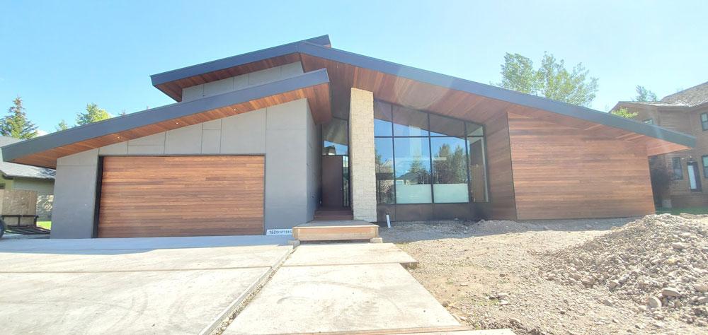 newly built class bungalow