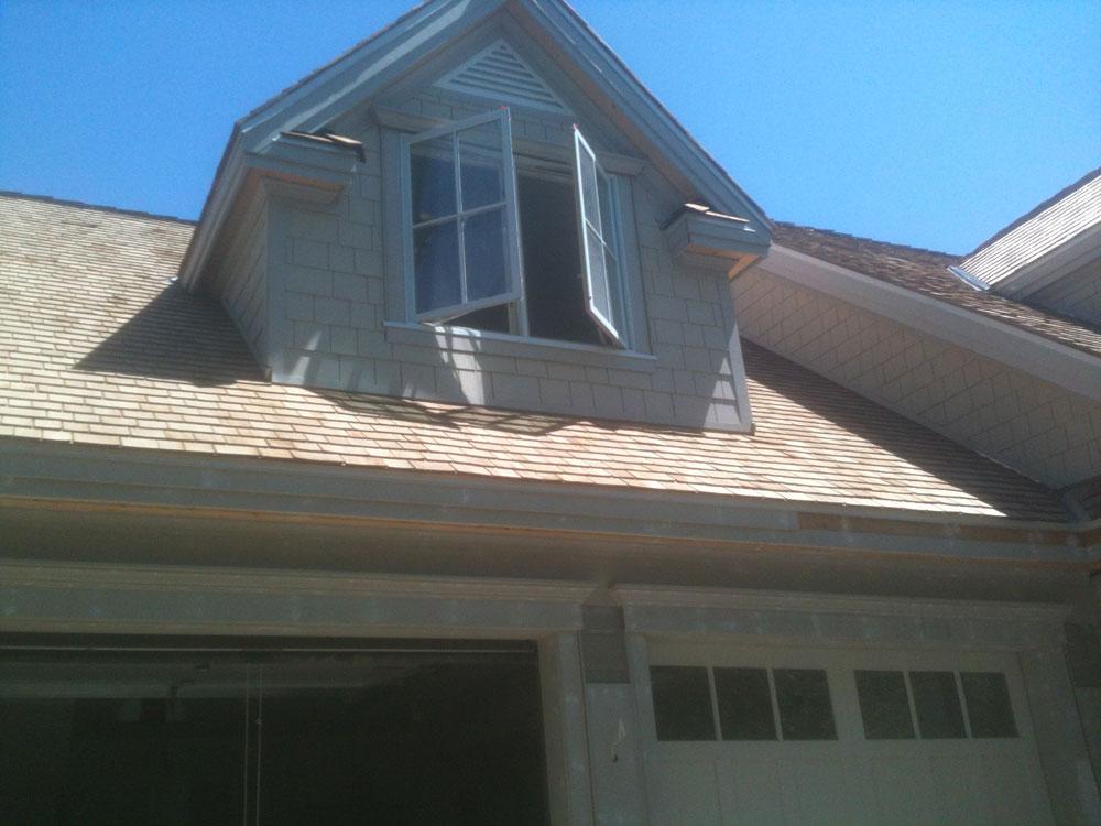 open attic window