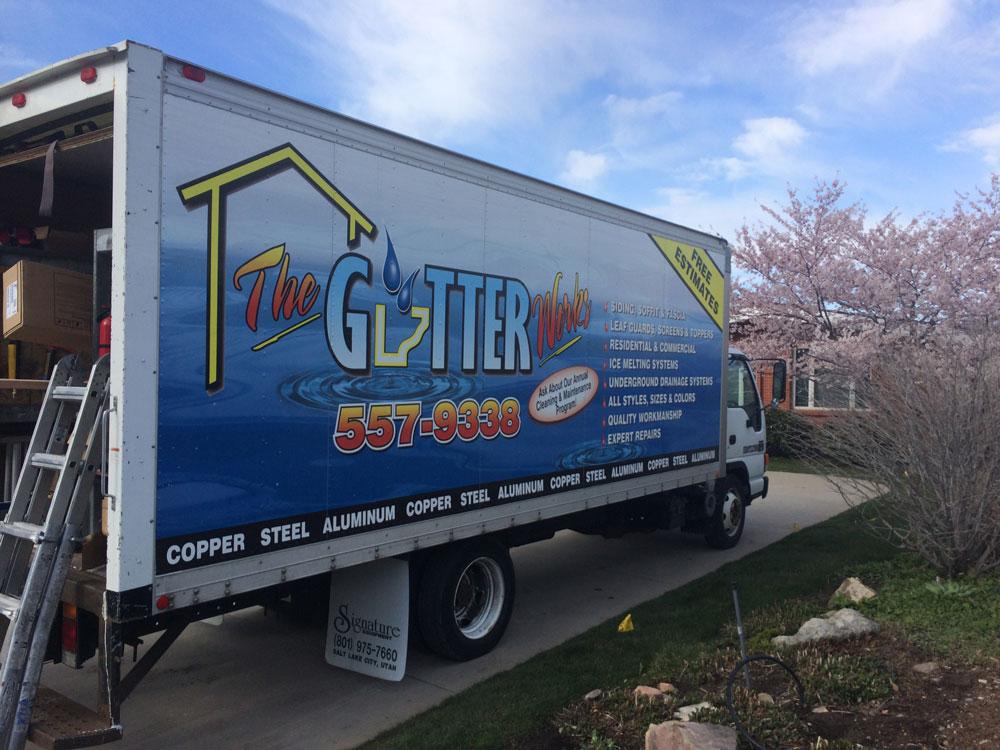 The Gutter Works Truck
